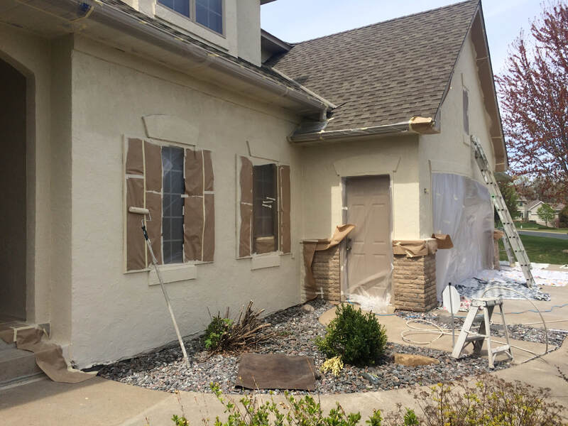 Exterior House Painting in Meridian Idaho by Peter The Painter